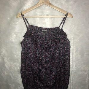 Lane Bryant Size 22/24 Ruffled blouse